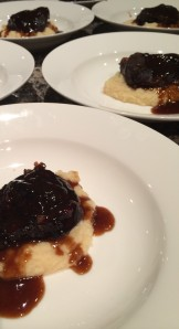 Paleo Asian Style Beef Cheeks with Celeriac and Parsnip Puree